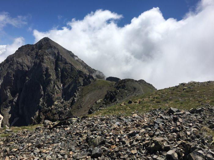 Pic de l'Arbizon 2831m et pic de Monfaucon 2712m